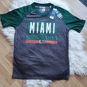 Miami Hurricanes Performance Tee